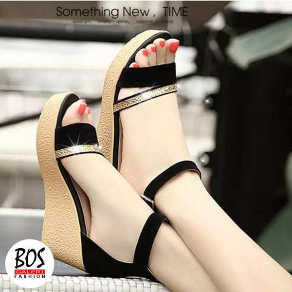Sandal Wedges Wanita Tali Kaki Dl40 - Smart4K Design Ideas d3f97d4bc1