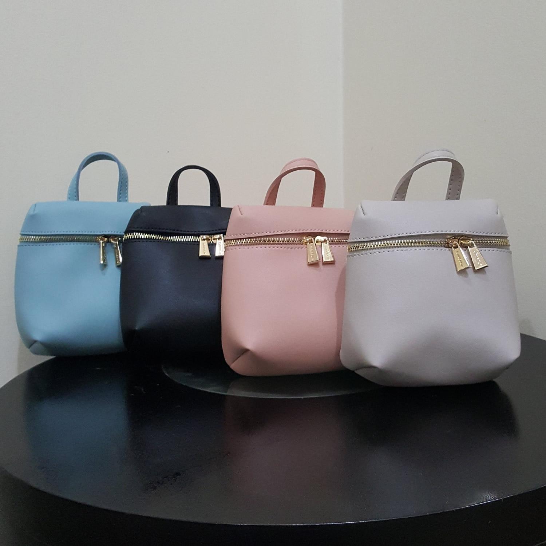 MINISO Sling Bag Women s Solid Color Crossbody Bag Tas Selempang Wanita  Unik dan Lucu 66ff6e3b9c