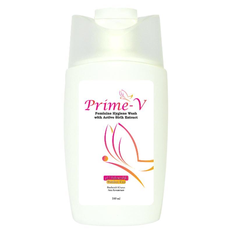 Prime-V Feminine Hygiene Wash Pembersih Daerah Kewanitaan - 100ml