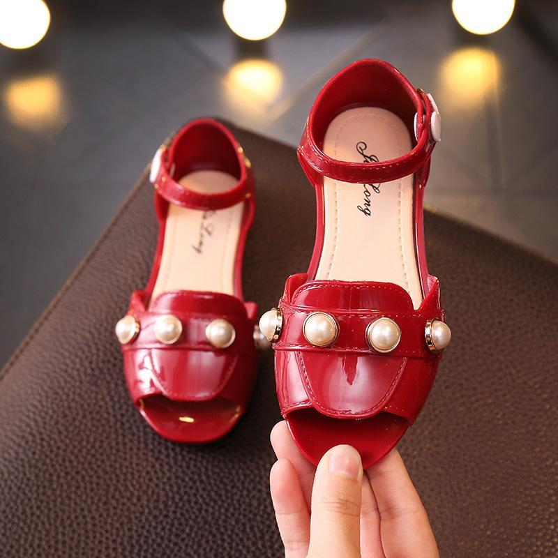 Anak prempuan Sandal Summer Gaya Korea anak-anak Sandal Summer musim panas Sepatu anak modis