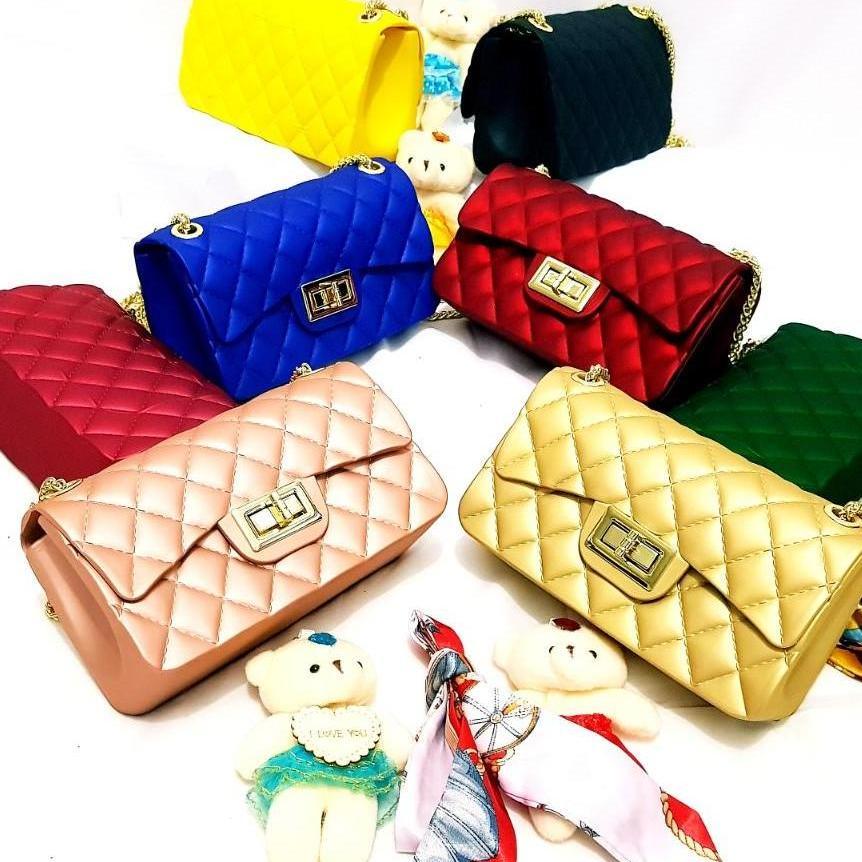 galery shop tas fashion jelly premium free SYAL BONEKA BISA BAYAR DITEMPAT-tas  wanita- b03295fc16