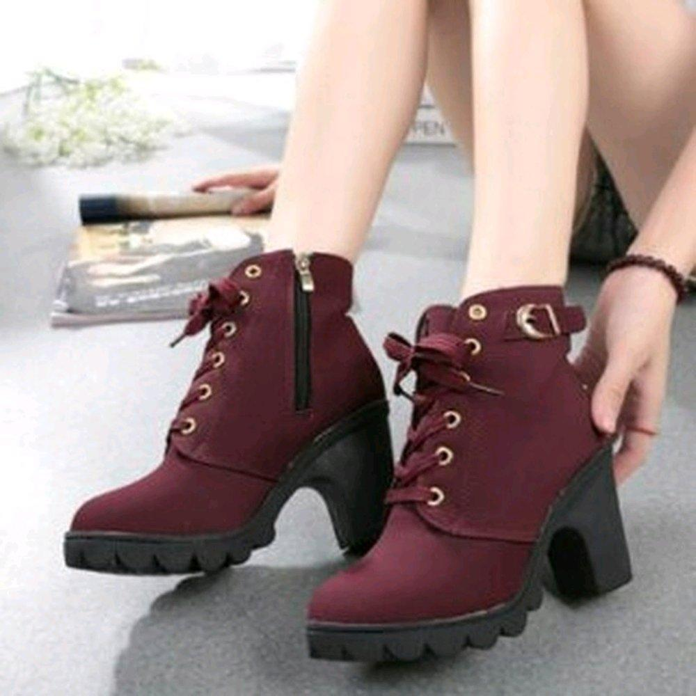 Rsm Sepatu Boot Heels Wanita S231 Black - Daftar Harga Terbaru dan ... 41e0e9fe26