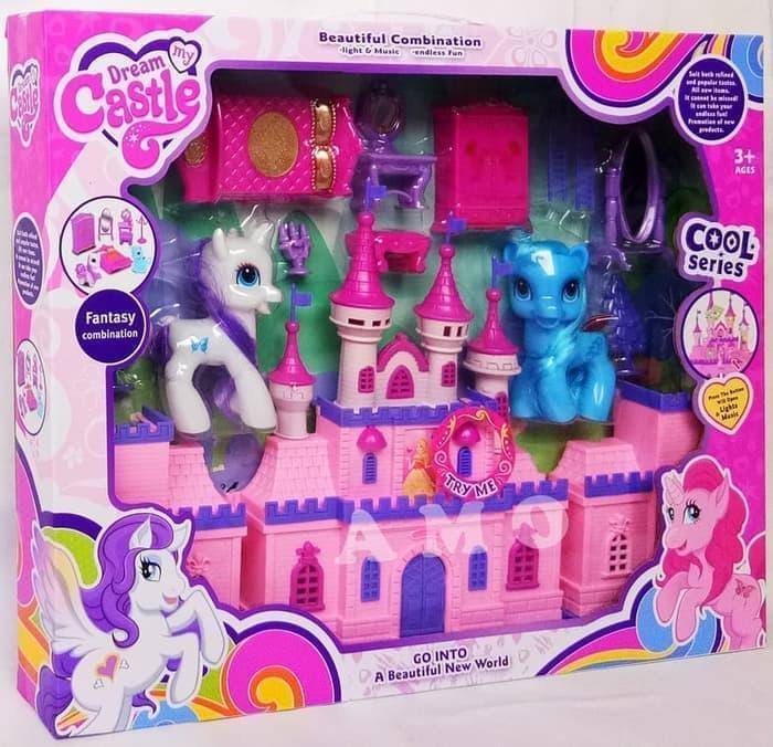 Dream Castle My Little Pony | Istana Pony - SG-29012