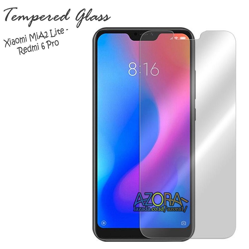Tempered Glass Xiaomi MiA2 Lite / Redmi 6 Pro / Mi A2 Lite Screen Protector Pelindung