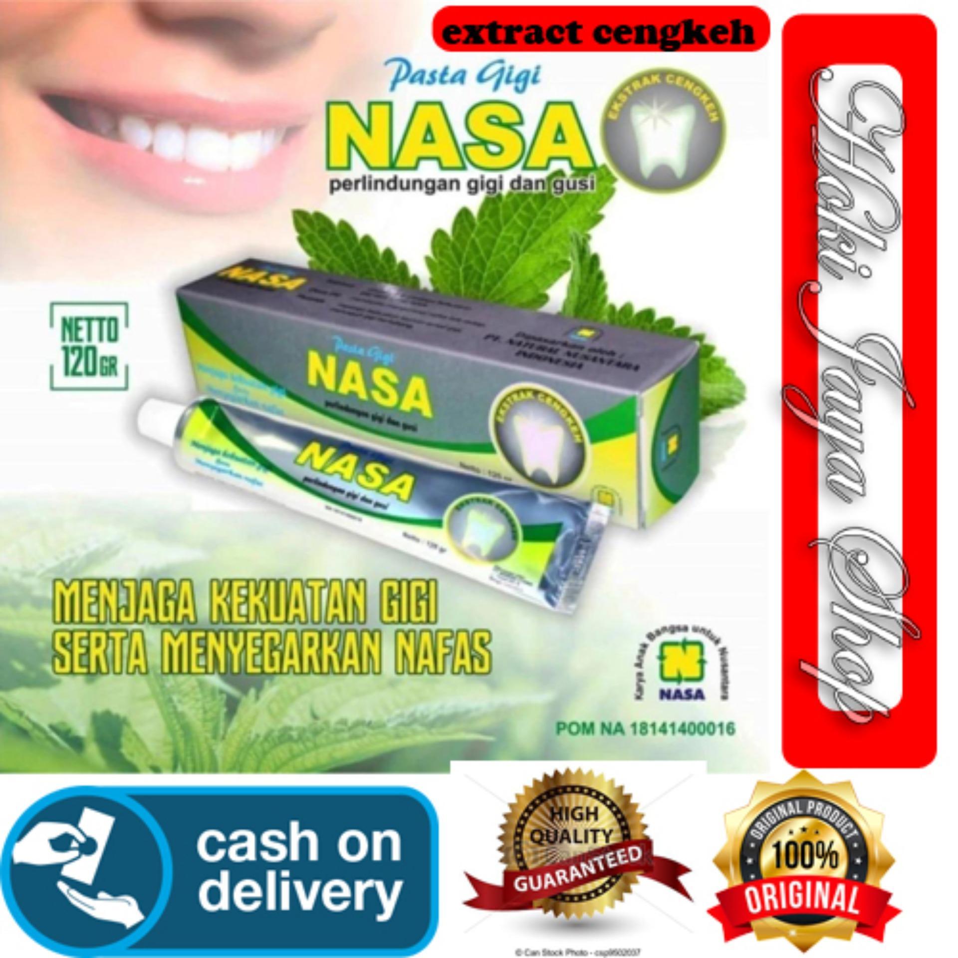 HOKI COD - Pasta Gigi NASA Odol Original 100% Sikat Gigi Herbal Dengan  Ekstrak Cengkeh 4e909c8a25