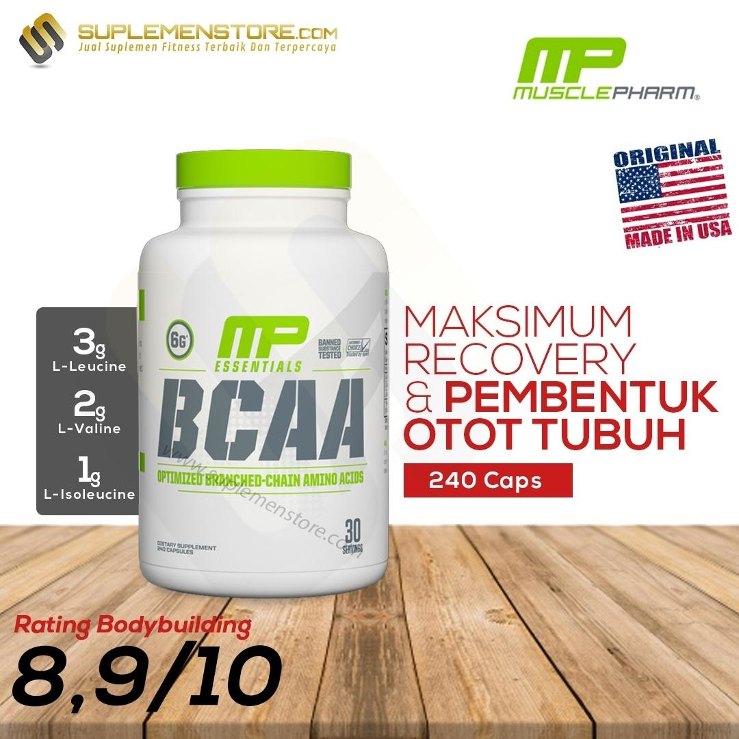 MusclePharm MP BCAA 240 Caps