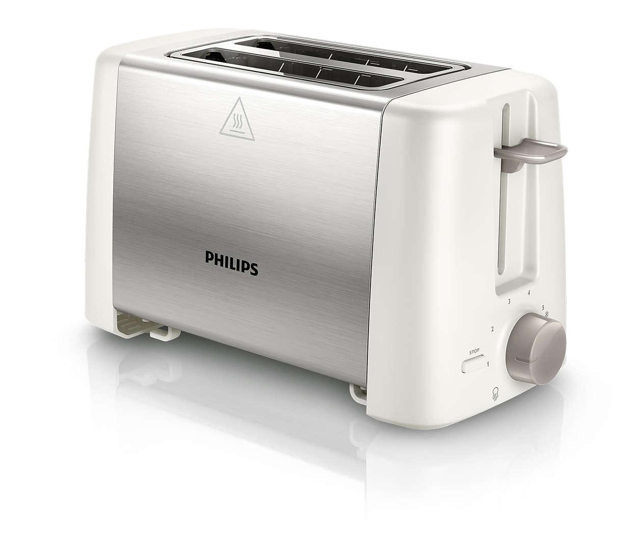 Philips Electric Toaster / Alat Pemanggang Roti Elektrik HD4825