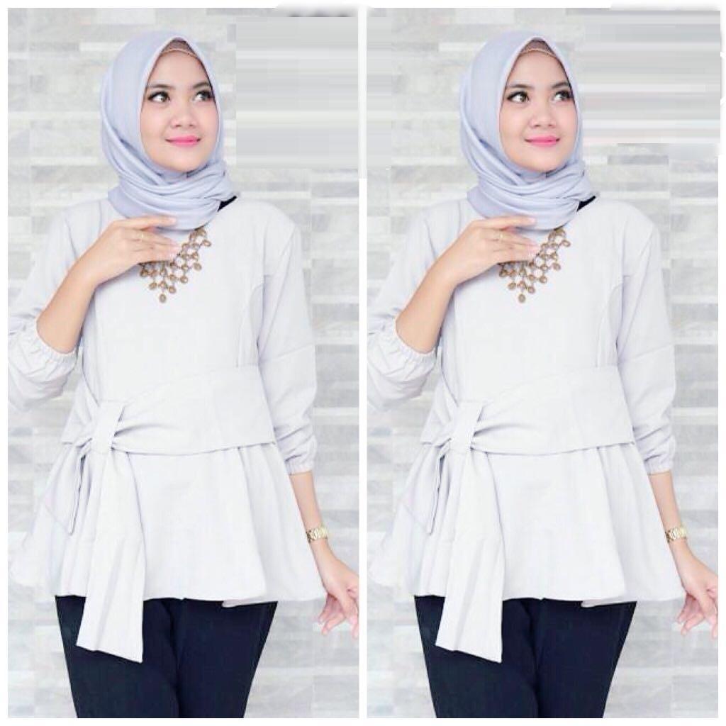 CGF Fashion - Baju / Atasan / Blouse Wanita Hannyfia Bahan Twistcone