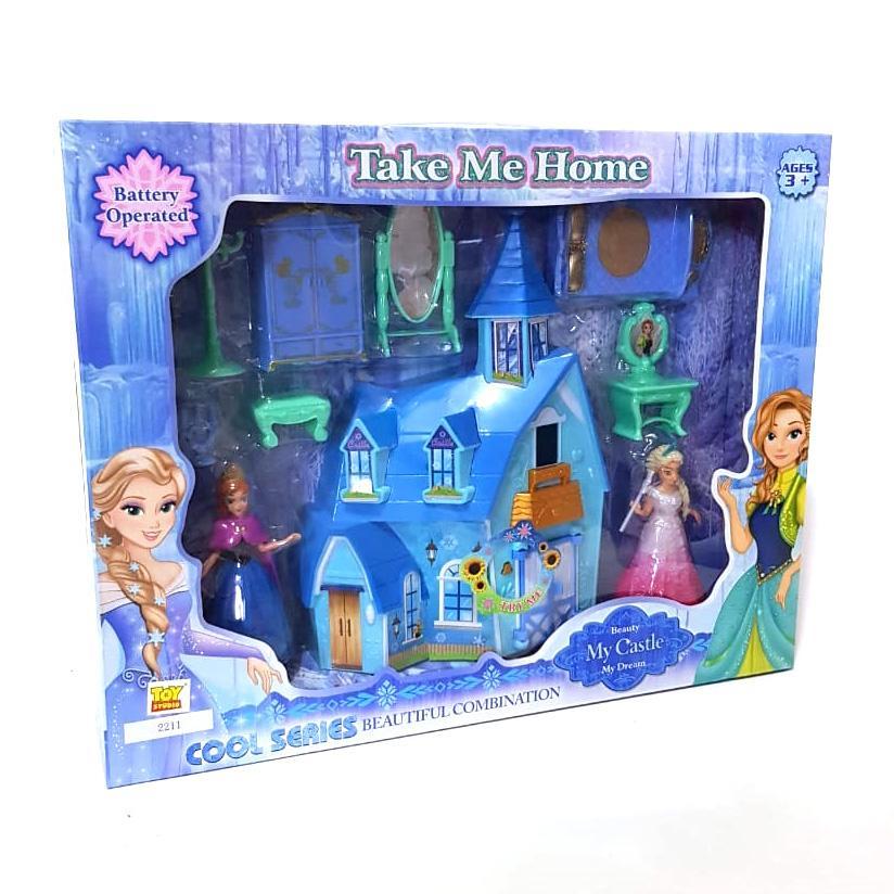 Mainan Istana My Dream Castle Frozen 2211
