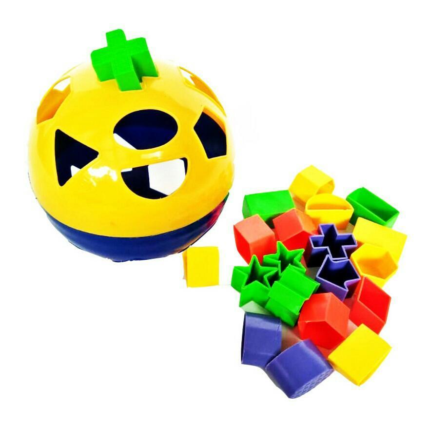 IM-3007 Puzzle Bola Mainan edukasi anak asah otak
