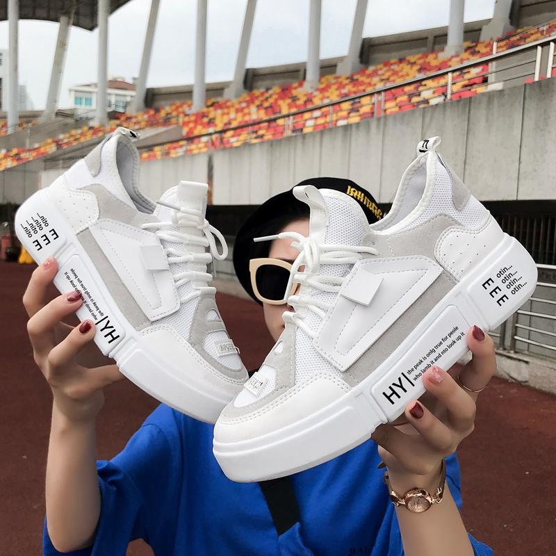 Jaringan sepatu olahraga wanita 2018 musim gugur model baru Gaya Korea  Harajuku ulzzang netral Berlari OLdPAPA 6f0a82c4f0