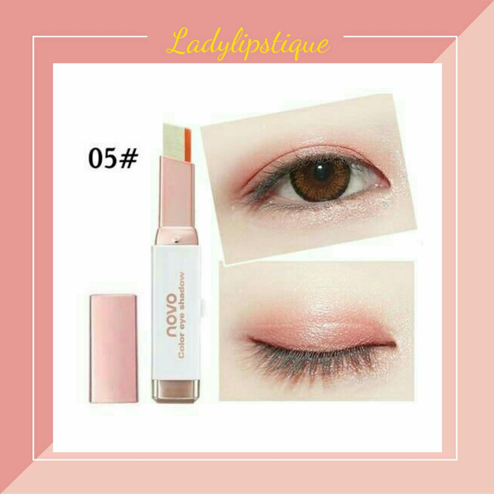 NOVO Eye Shadow Eyeshadow Stick Gra nt Ombre Color Korean Style Makeup 5