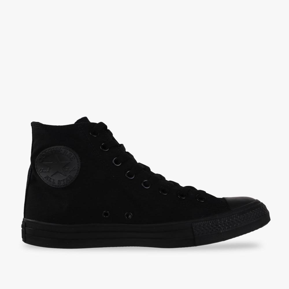 Converse Chuck Taylor All Star Canvas Hi Cut Sneakers - Black - BTS c9416fff45