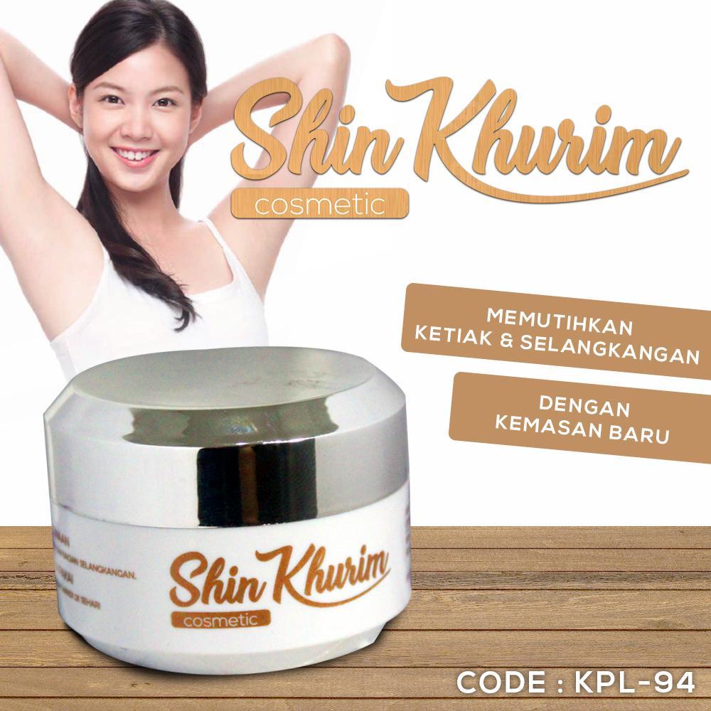 SHIN KHURIM ARMPIT KEMASAN BARU BPOM - Shinkurim Pemutih Ketiak dan Selangkangan Shin Kurim - KPL