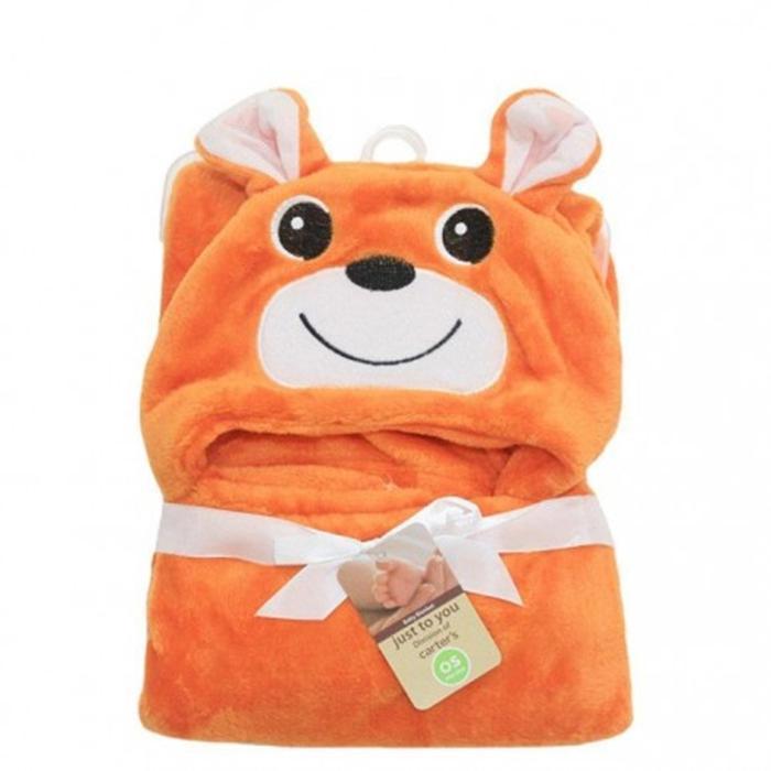 Selimut Topi Double Fleece Selimut Hoodie Bulu Bayi 3D Hoodie Blanket Tudung
