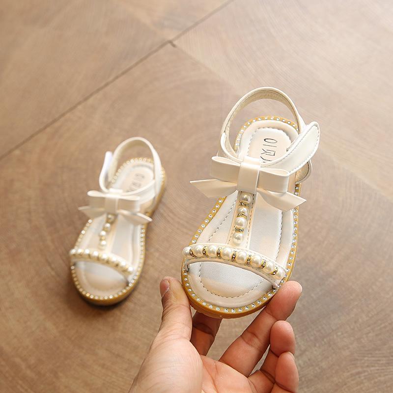 2019 model baru musim panas modis Dasi kupu-kupu sepatu putri anak prempuan Sandal Summer