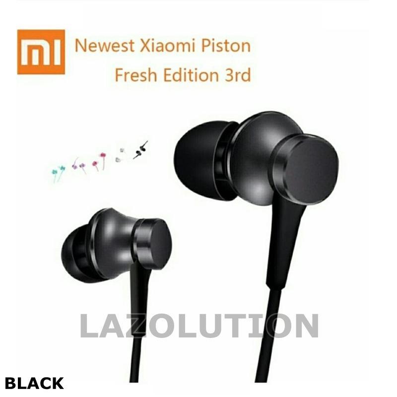 Original Mi For Xiaomi Piston 3 Fresh Version Earphone In-Ear 3.5mm With Mic