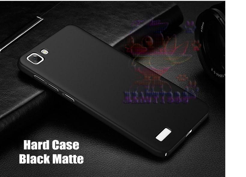 Case Vivo Y35 Hard Slim Black Mate Anti Fingerprint Hybrid Case Baby Skin Vivo Y35 Baby