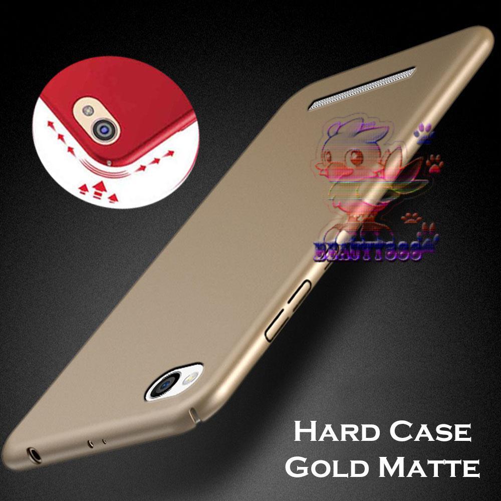 Case Xiaomi Redmi 4A Hard Slim Gold Mate Anti Fingerprint Hybrid Case Baby Skin Xiaomi Redmi