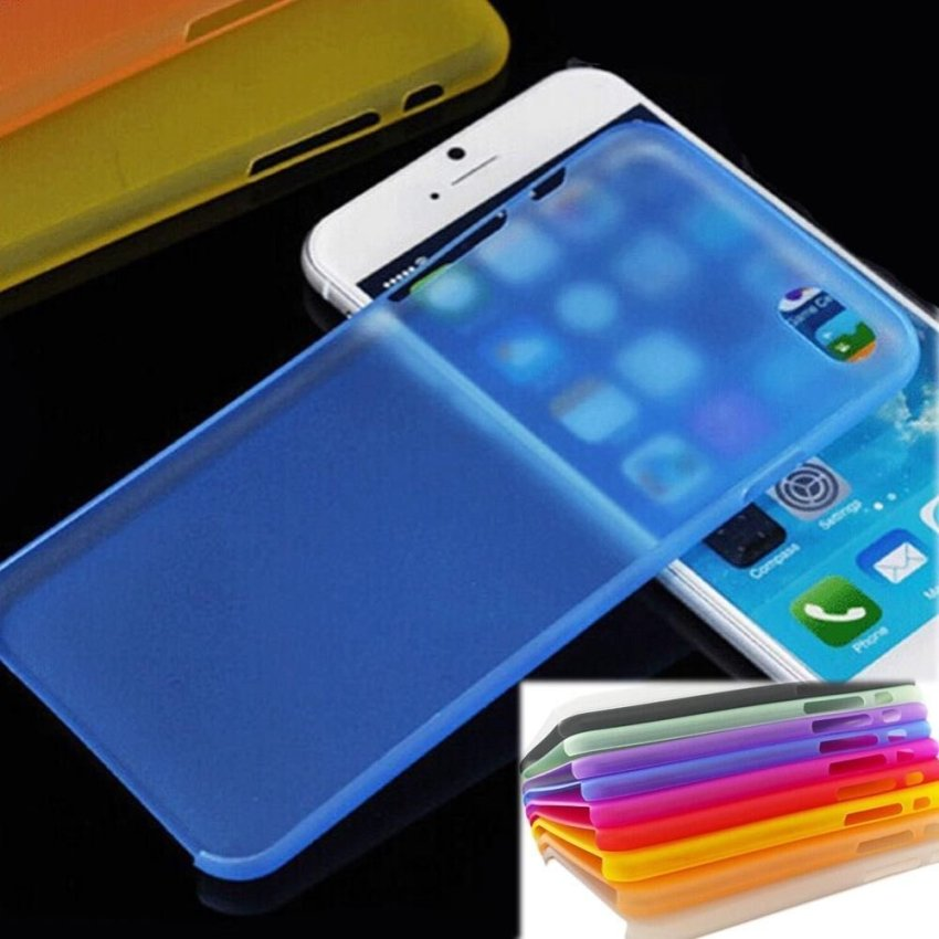 0.3mm Super Thin Matte Case Cover for iPhone 6 Plus 5.5 Pink (Intl)
