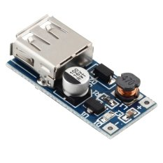 0.9v-5v To 5v Dc-Dc Booster Module Usb Mobile Step-Up Power Supply Module