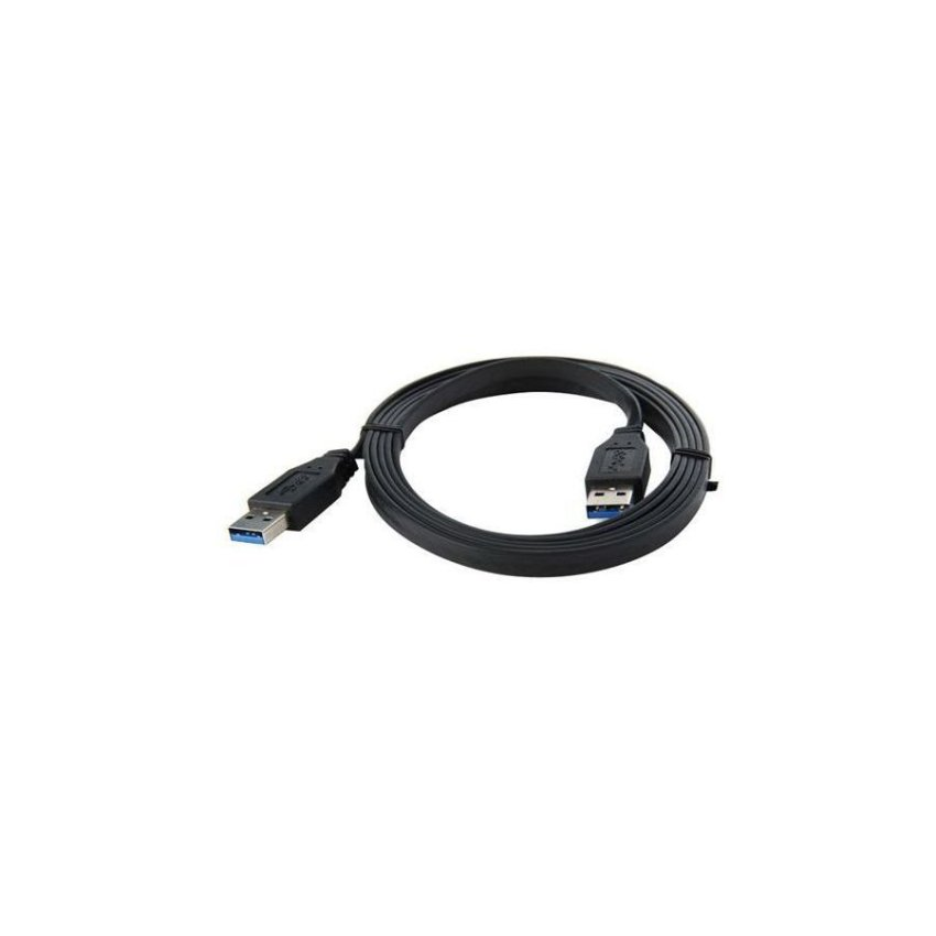 1.8 m USB 3.0 5 Gbps AM to AM Extension Cable Black