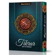Al-Quran Hafalan Tikrar ukuran B6 - Biru