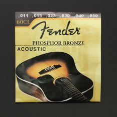 Autoleader 1 Set 60 cl (0.011 -, 050) fosfor perunggu baja ringan luka senar gitar akustik