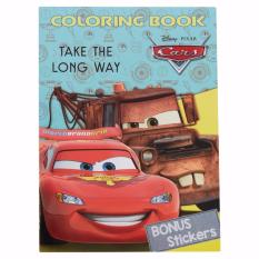 Cars Coloring Book Large (Take The Long Way)