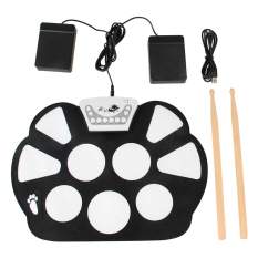 Electronic 9 Pad Roll Up Drum Kit - Intl