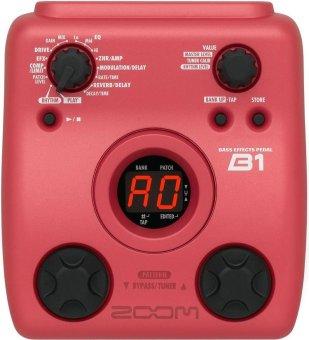 ZOOM EFFECT PEDAL GITAR B1 (RED)