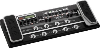 Zoom Effect Pedal Gitar G9.2 Tt - Black