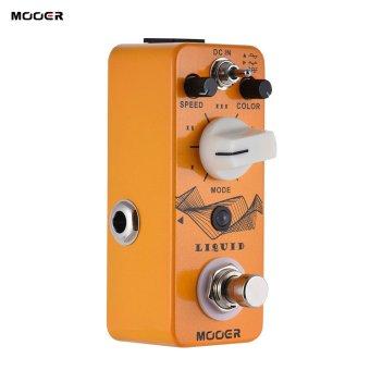 Beli MOOER LIQUID Mini Digital Phaser Guitar Effect Pedal True Bypass Full Metal Shell - intl harga Diskon 580.000 pesan sekarang!!!! Belanja