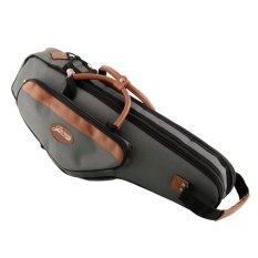 New Portable Soft E Alto Sax Saxophone Gig Bag Case Cover Gray High Quality - intl