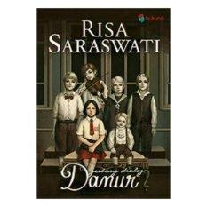Novel Gerbang Dialog Danur Penerbit Bukune Cover Lama sesuai Gambar
