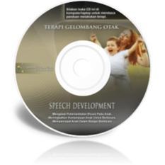 Terapi Musik gelombang otak CD Terapiotak - terapi untuk Mengatasi keterlambatan bicara pada anak