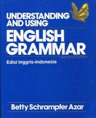 Understanding and Using English Grammar - Betty Schrampfer Azar