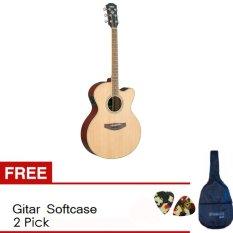 Yamaha Gitar Akustik Elektrik CPX 500II - Natural + Softcase & 2 Pick