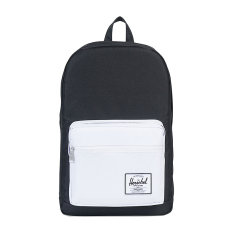 Herschel Pop Quiz Backpacks - Black-White