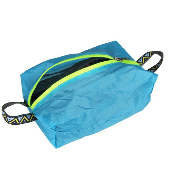 harga BolehDeals Outdoor Travel Kit Tote Laundry Shoes Pouch Clothing Luggage Bag M Blue Lazada.co.id