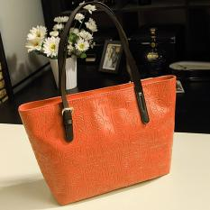 OH Women Lady Vintage Big Purse Bag Tote Fashion Handbag Shoulder PU Leather