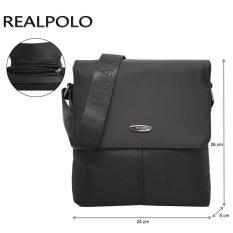 Real Polo Tas Selempang Travel 8817 - Hitam