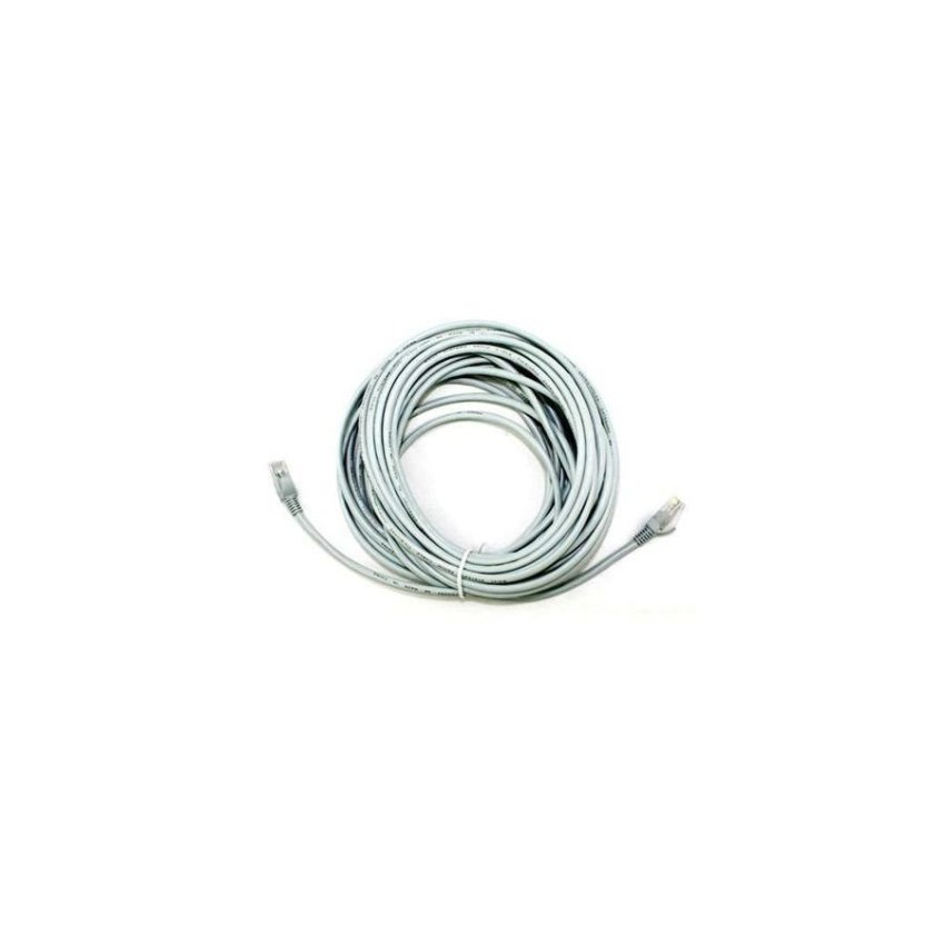 10m Cat 5 RJ45 Ethernet Network Cable Silver