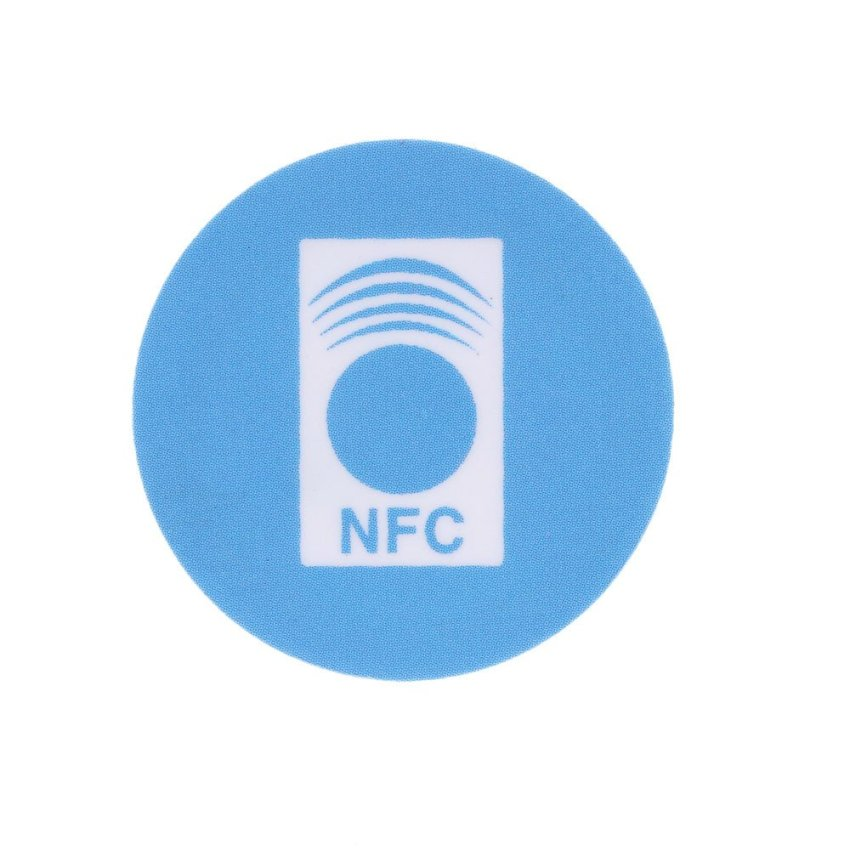 10pcs NFC Tag Contactless IC Card Stickers 13.56MHz Waterproof PVC for Smart Phone Ticketing (Intl)