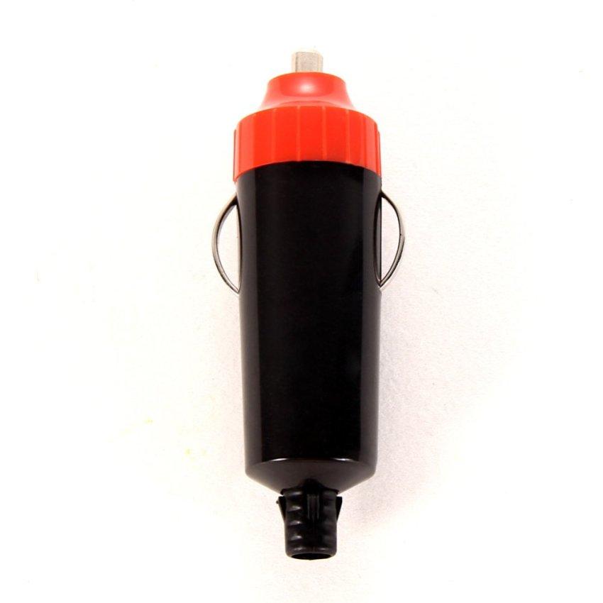 12V Universal Male Car Cigarette Lighter Socket Plug Connector Adaptor (Intl)