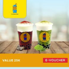 E-Voucher Hop Hop Bubble Drink Rp. 25.000