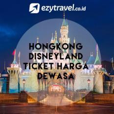 Ezytravel Disneyland Hongkong Tiket 1 Day Pass Harga Dewasa