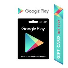 Google Play Gift Card Region Indonesia - 150.000
