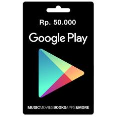 Google Play Gift Card Region Indonesia - 50.000