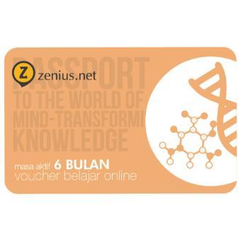Zenius Voucher zenius.net 6 bulan
